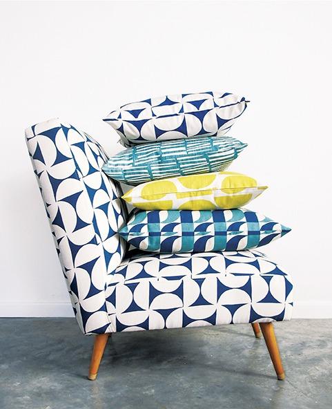 Skinny laMinx Bofred-chair in Breeze Petrol