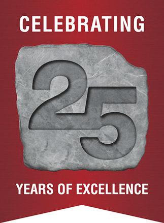 25 year Logo Red