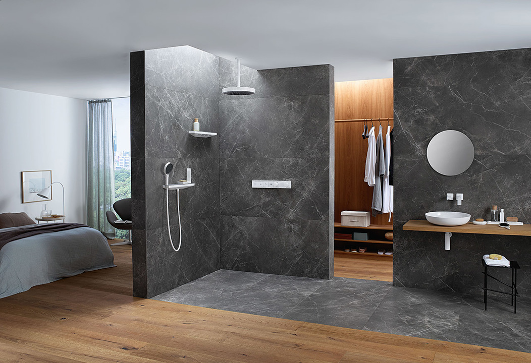 Thanks to its overall composition of innovative technology, stylish design, and superior quality, Rainfinity opens up a new dimension of showering_3