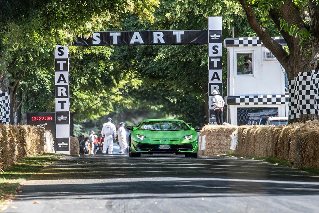Automobili Lamborghini at Goodwood Festival of Speed