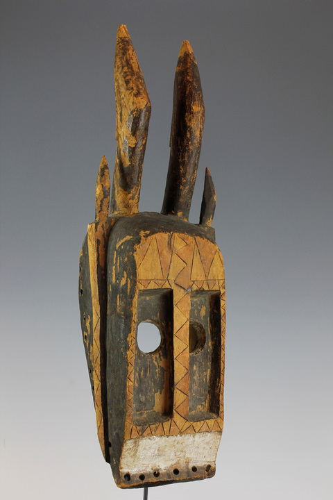 Bryan Reeves Ceremonial mask Dogon culture, Mali Early 20th century 40 cm high £3,800 Ex private collection, UK