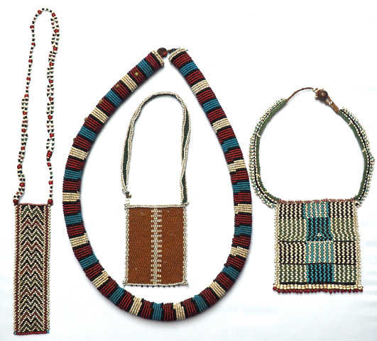 Sam Handbury-Madin South African Zulu & Xhosa beaded necklaces Dating from late 19th / early 20th Century & prices from £200