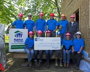 Habitat Homes Get Royal Treatment