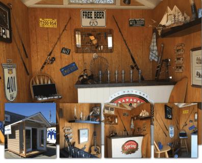 Comox Valley Pub Shed