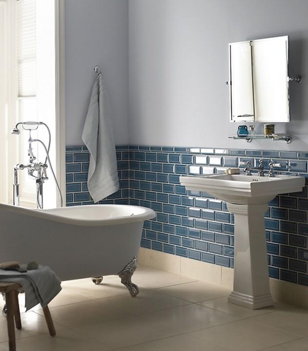 idees de salles de bain bleues