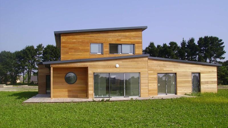 Construire Une Maison En Bois De Nombreux Avantages