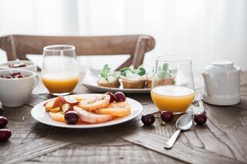 rituel matinal déjeuner