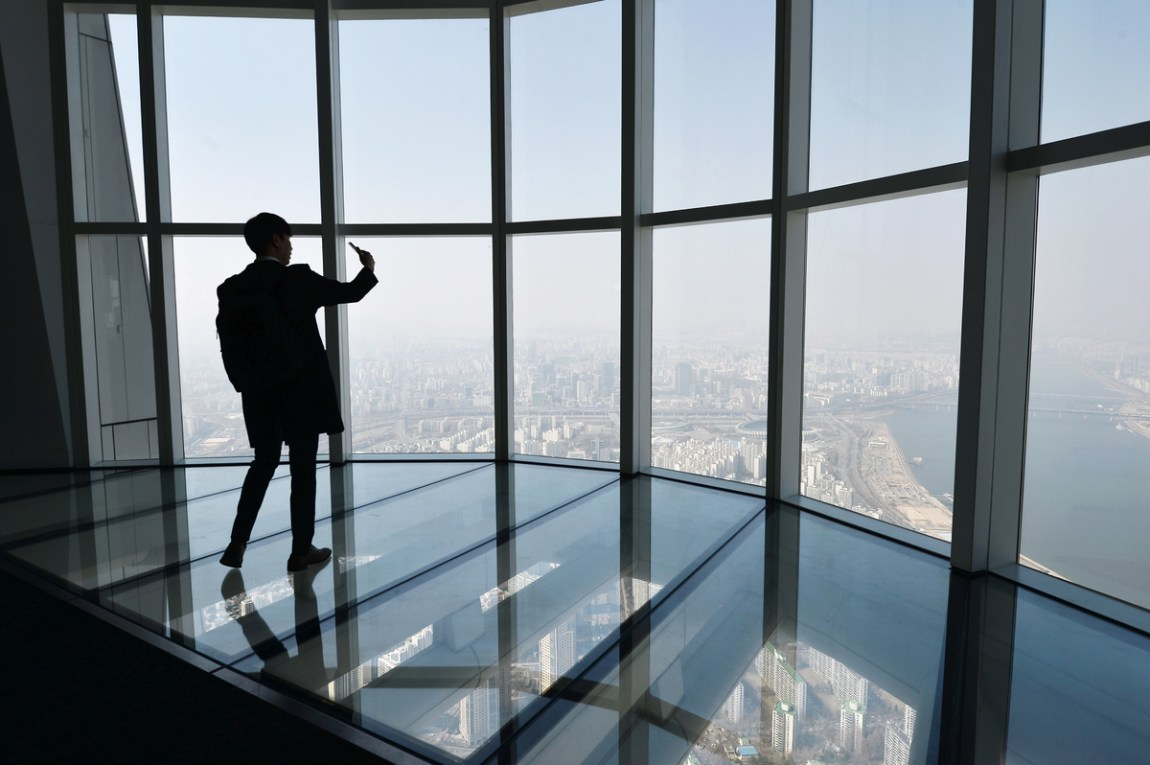 [Lotte World Tower] World's Third Highest Observatory, Opens March 22, 2017