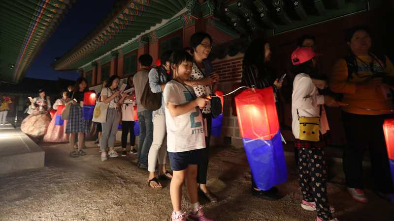 Special Evening Admission to Seoul's Royal Palaces 2018