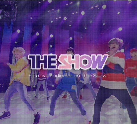 The Show BTS stage
