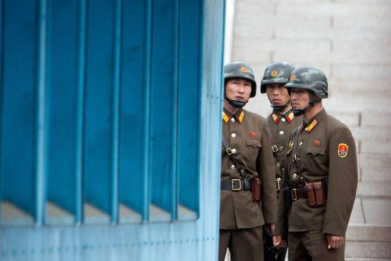 North Korean, DMZ