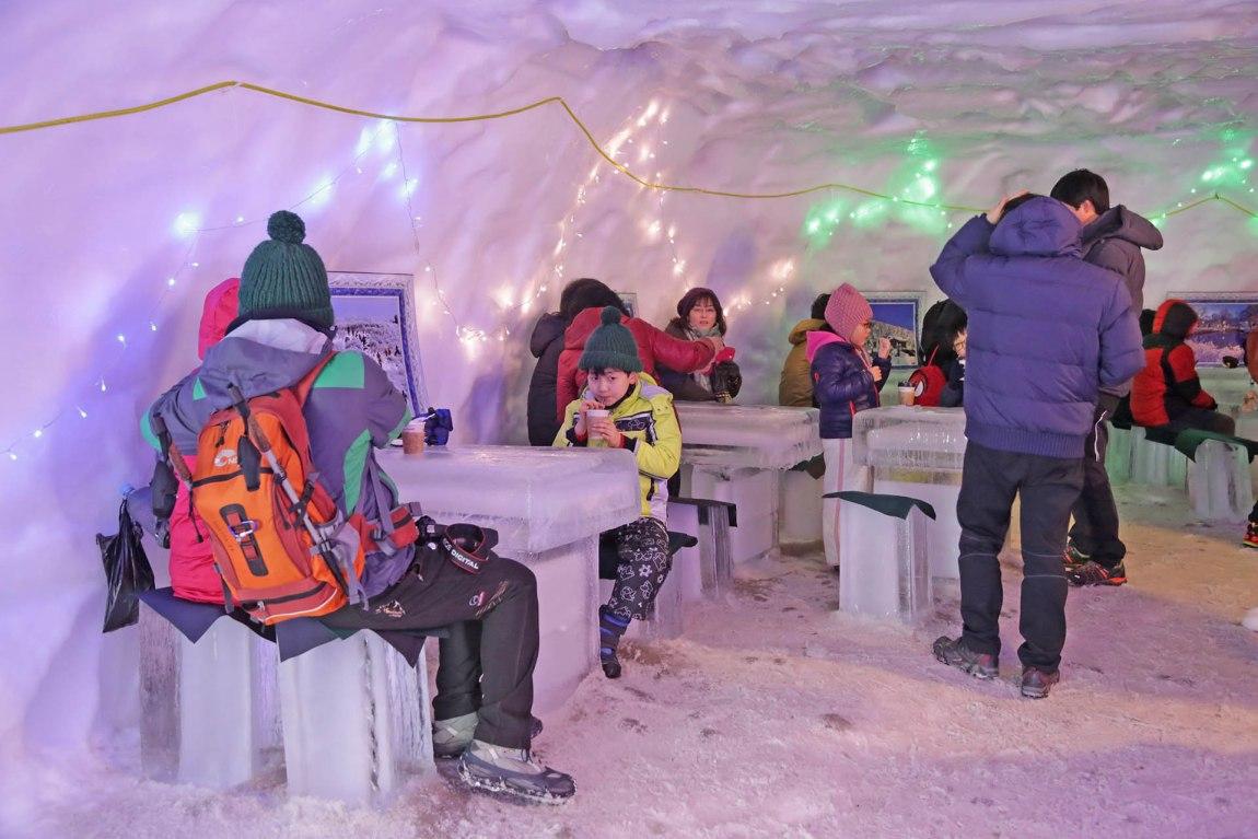 Hasil gambar untuk taebaek snow festival