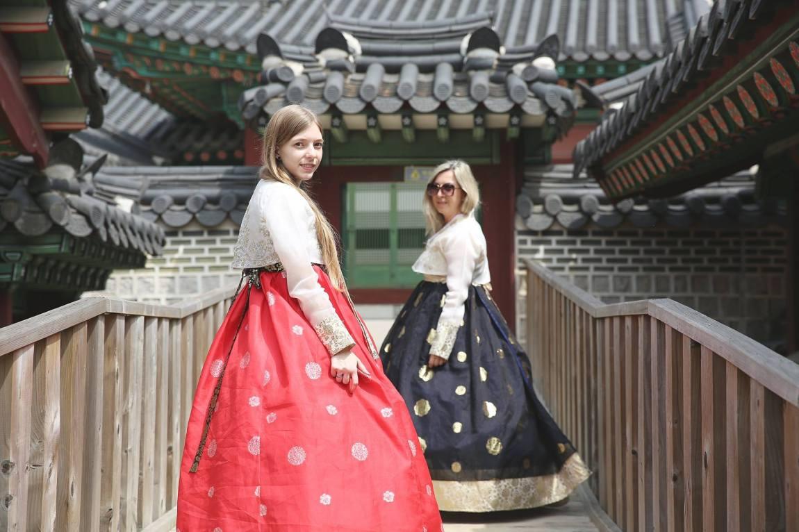 Hanbok snap photo