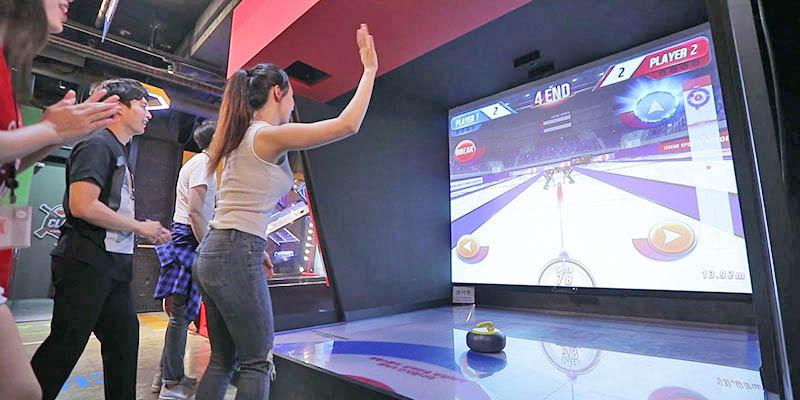 Korea's new concept screen sports theme park 'Legend Heroes'
