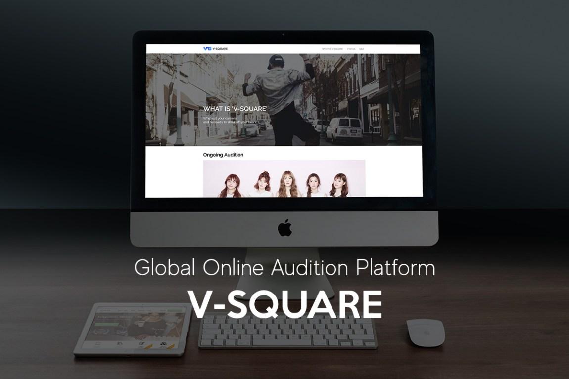 Global Online KPOP audition platform 'V-Square' | HaB Korea net
