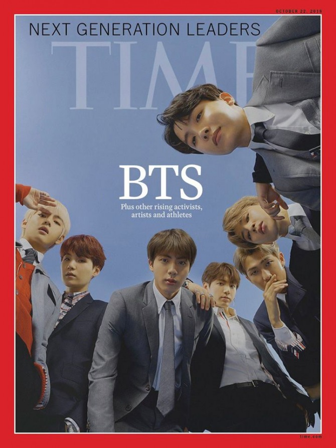 'Make way, Mr. President': BTS storms Time's person of the year poll