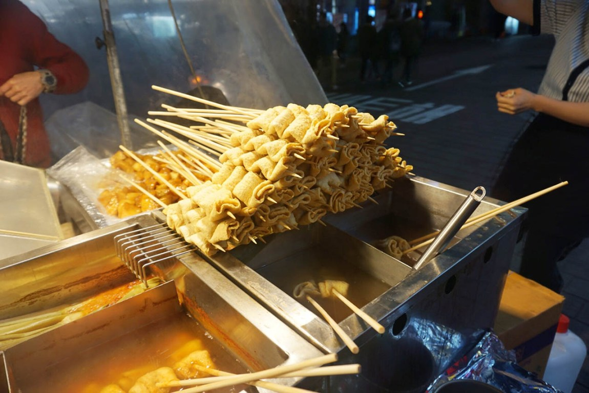 Exploring Myeongdong: All that Shopping and Street Food
