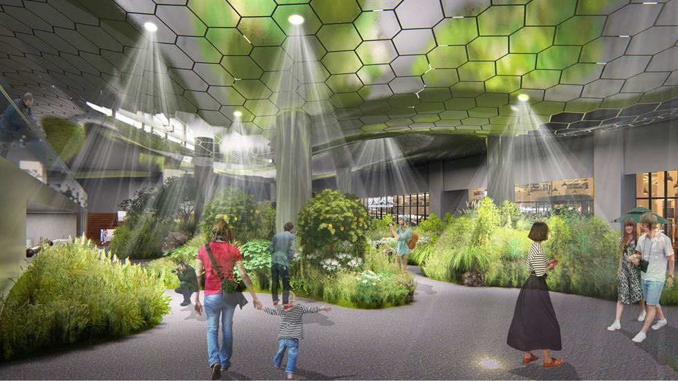Seoul will create an underground 'sun-lit' park