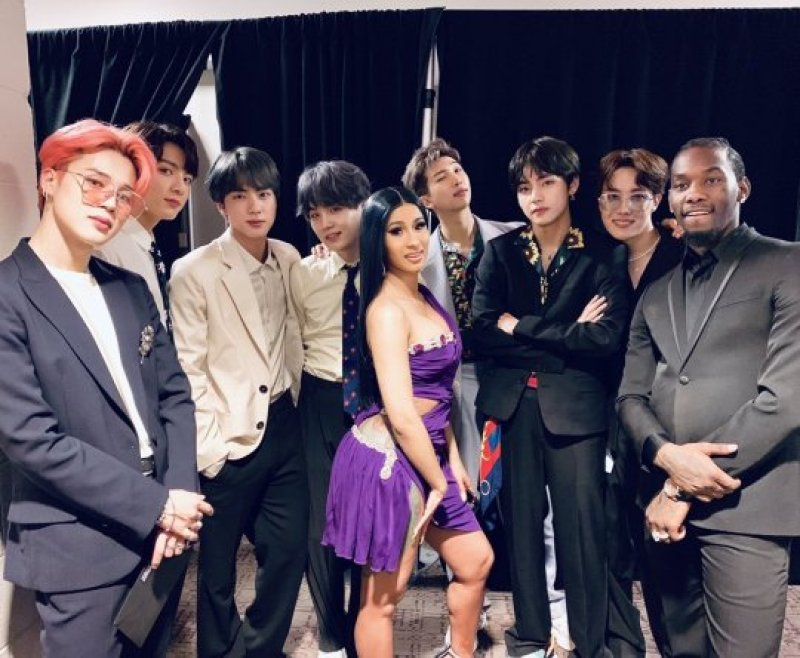 BTS: Top 10 Hollywood Celebrities Interaction at BBMA's 2019