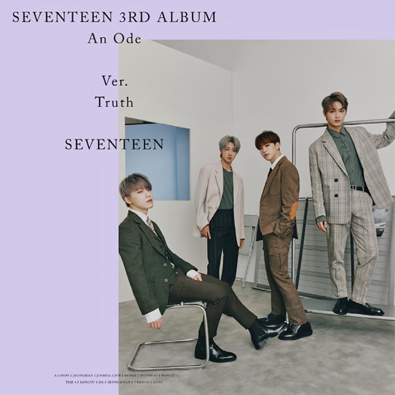 Seventeen reveals more Truth version concept photos for upcoming album 'An Ode'