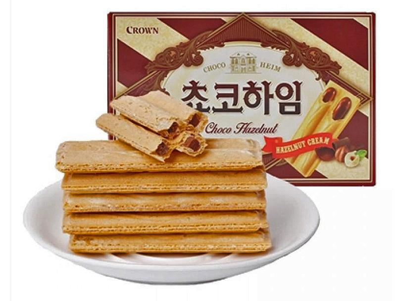 korean snack chocoheim