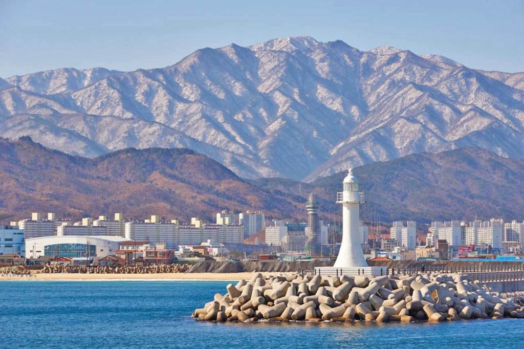 Sokcho beach habkorea