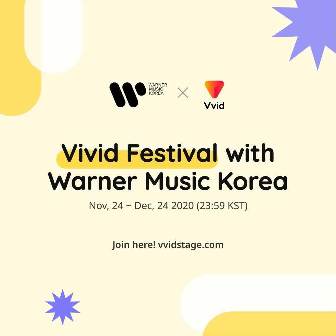 VVID X WARNER MUSIC, Untact MeMeWe Music Festival Open