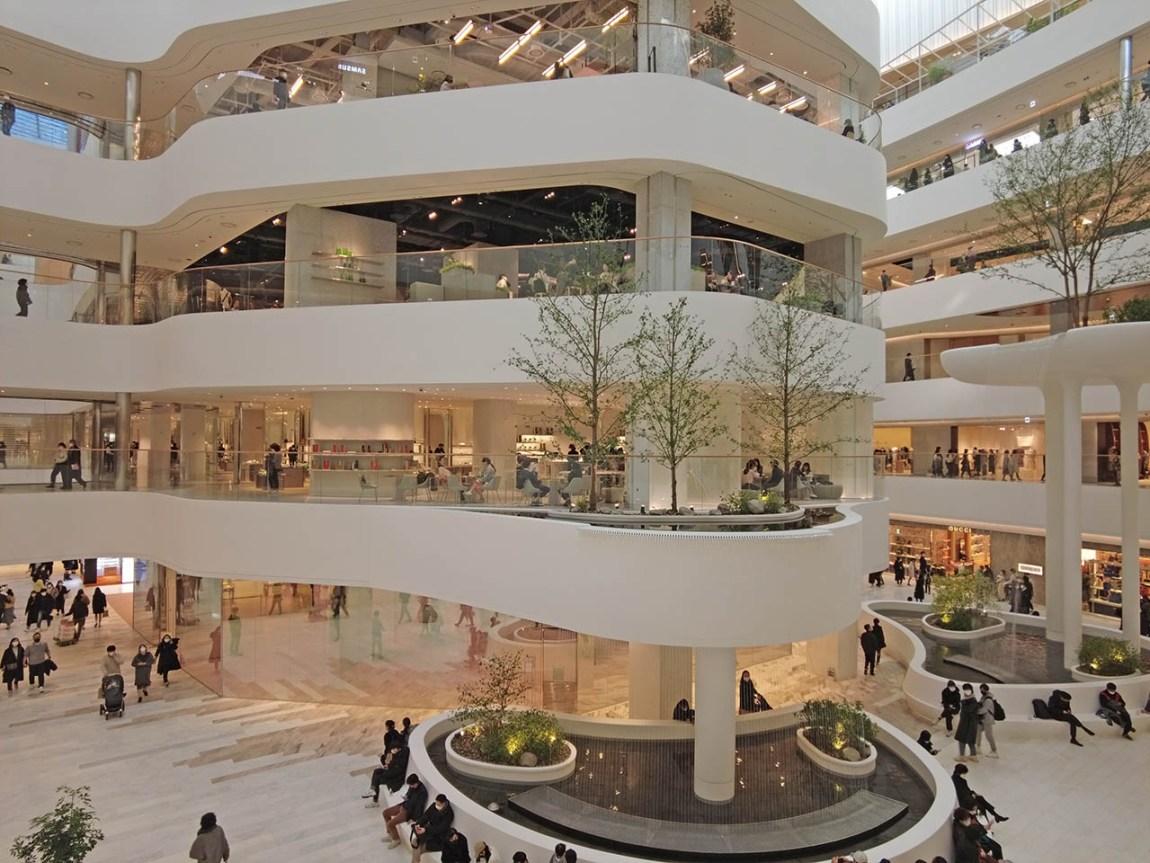 Seoul's newest, biggest department store 'The Hyundai Seoul'