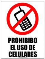 senal-de-prohibido-celular