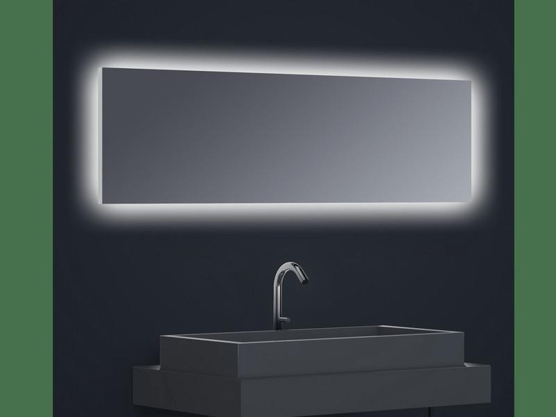 Miroir Retro Eclaire Horizontal Flex Led Eclairage Inverse Dimensions A Definir Film Antibuee Haccess Haccess