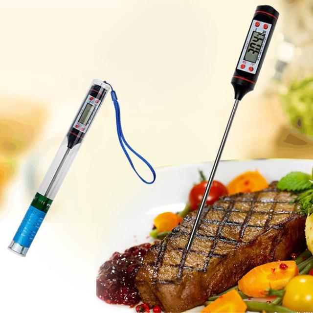 Термометър за температурата във вътрешността на продукт