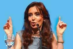 Cristina Fernández de Kirchner - Foto : Hacer.org