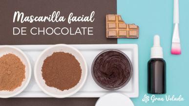 Tutorial para hacer mascarilla facial de chocolate con vídeo y paso a paso