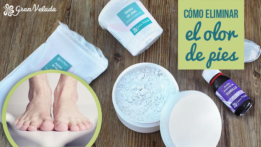 Como eliminar el olor de pies