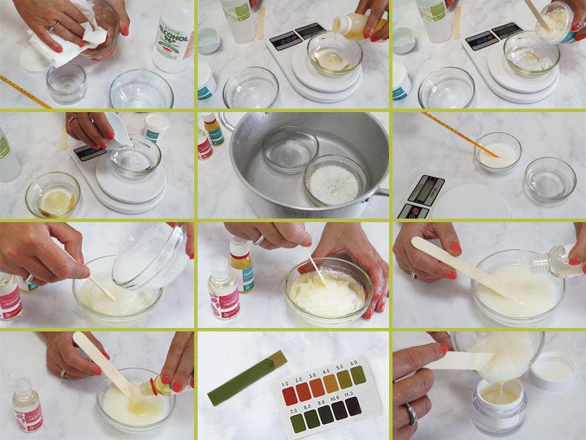 Cuadro resumen de hacer cremas desde 0 Gran Velada.