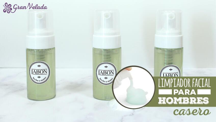 Limpiador facial para hombres