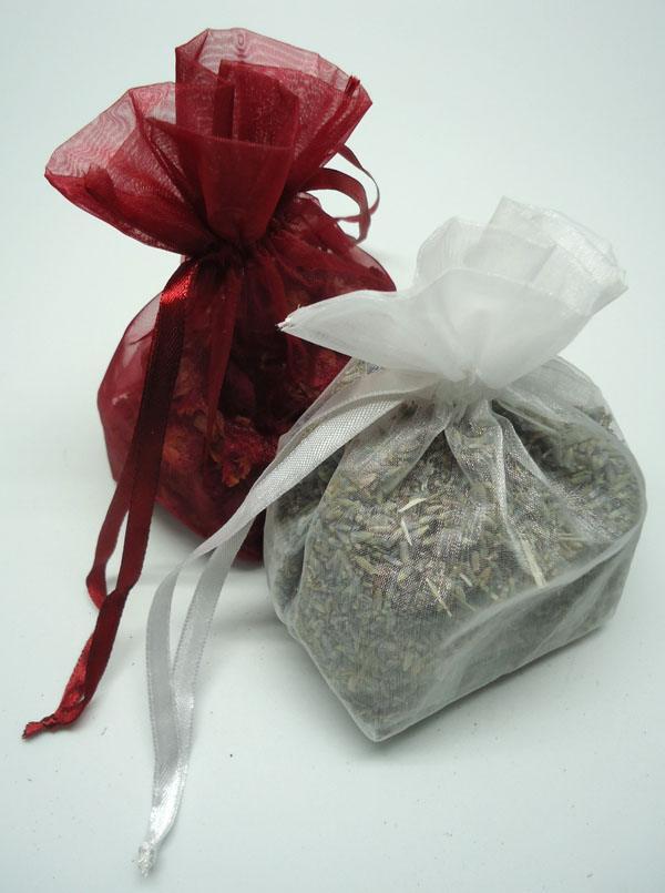 Ambientador natural para armarios de flores de lavanda y rosas