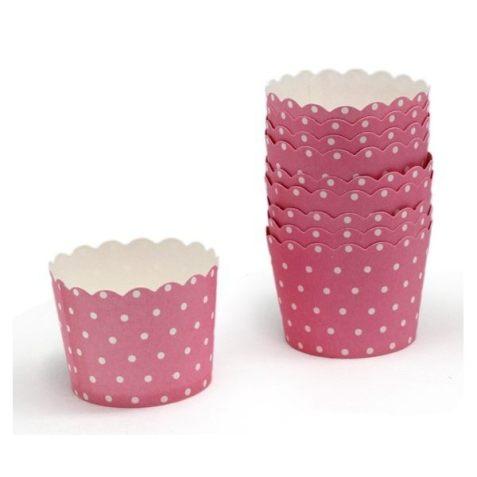 Cápsulas para cupcake caseros
