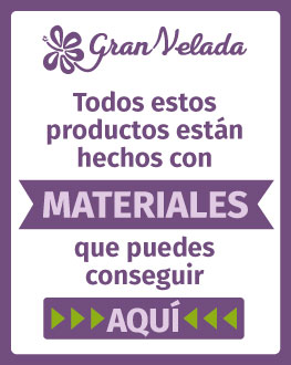 Granvelada.com Tienda de Materiales para hacer manualidades DIY