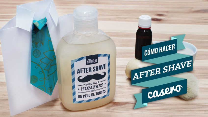 After shave casero