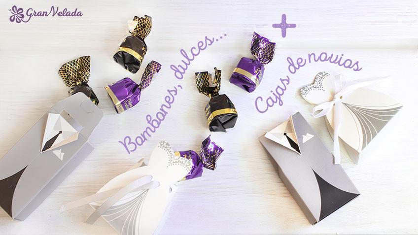 Cajas de dulces para boda