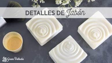 Tutorial con vídeo para hacer detalles de jabon en casa y personalizados para eventos