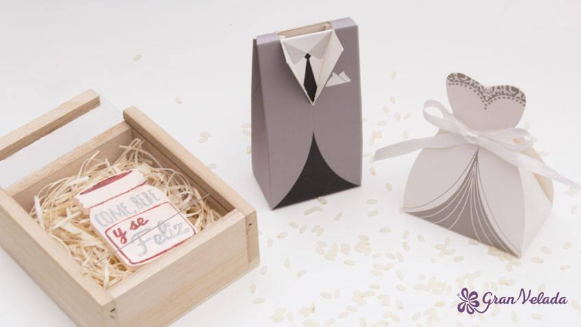 Como envolver detalles de boda paso a paso