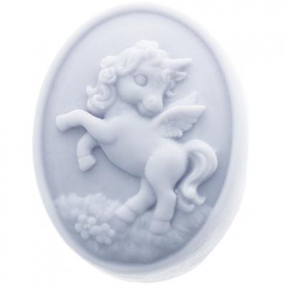 Molde de pastilla con unicornio