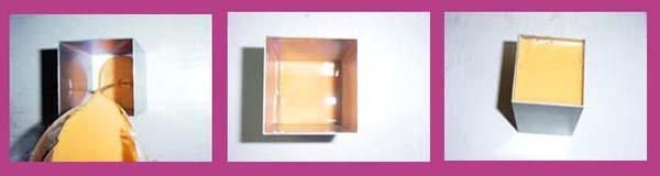 Hacer jabon tricolor Opaco Paso 1