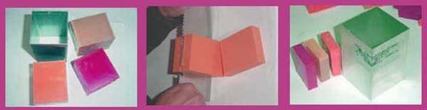 Hacer jabon tricolor Opaco Paso 2