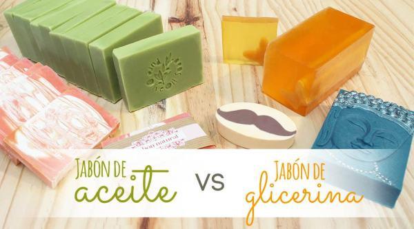 Diferencias entre jabon de Aceite y jabon de Glicerina.