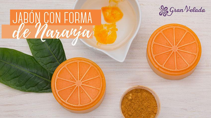 Hacer jabon con forma de Naranja
