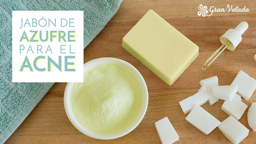 Jabon de azufre para el acne