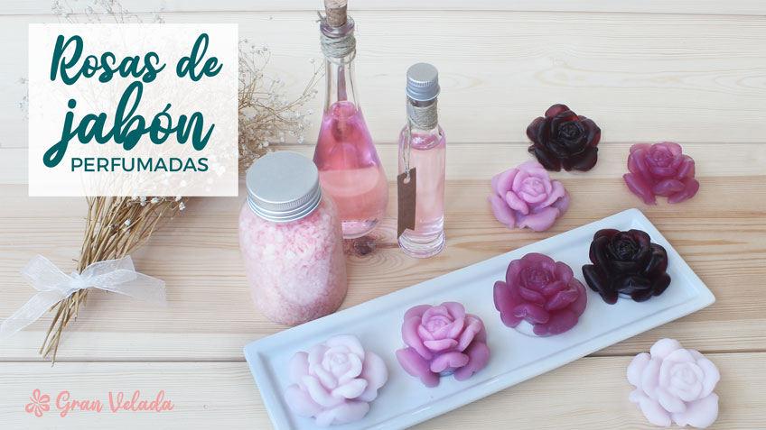Rosas de jabon perfumadas